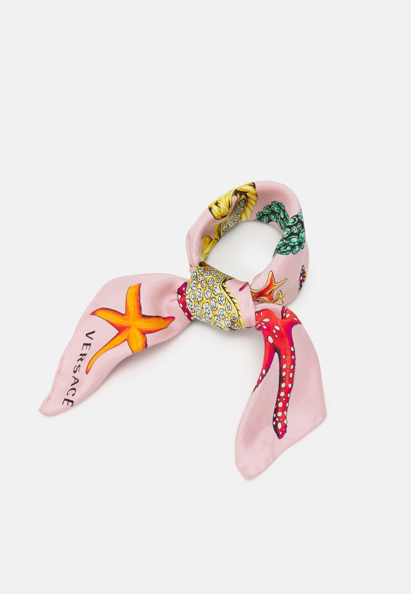 Versace - FOULARD - Šátek - rosa/multicolor