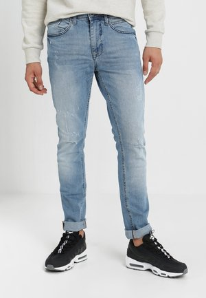 Slim fit jeans - denim lightblue