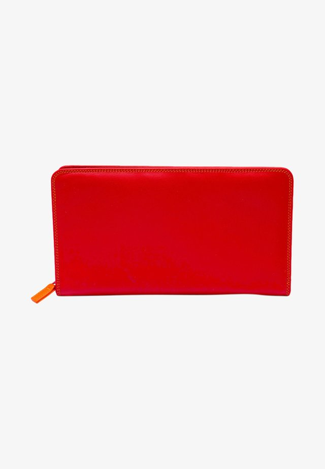 TRAVEL WALLET - Portemonnee - red