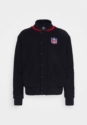 NFL TRUE CLASSICS SHIELD LETTERMAN JACKET - Sportovní bunda - navy