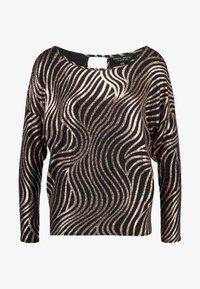 Dorothy Perkins - SWIRL BATWING - Langærmede T-shirts - bronze - 5