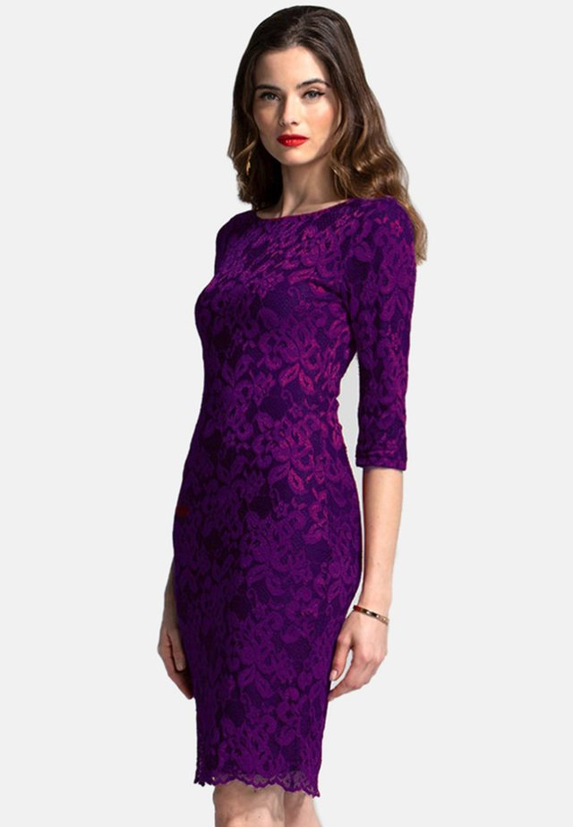 Shift dress - purple