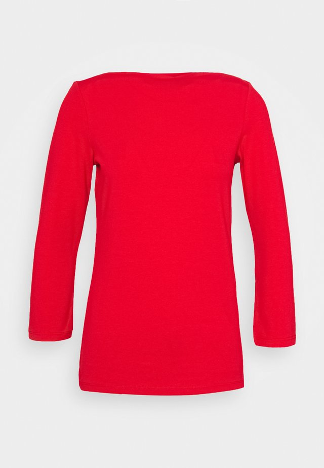 ONLLIVE LOVE 3/4 BOATNECK - T-shirt à manches longues - high risk red