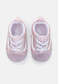 Vans - OLD SKOOL CRIB - Chaussons pour bébé - orchid ice/powder pink - 3
