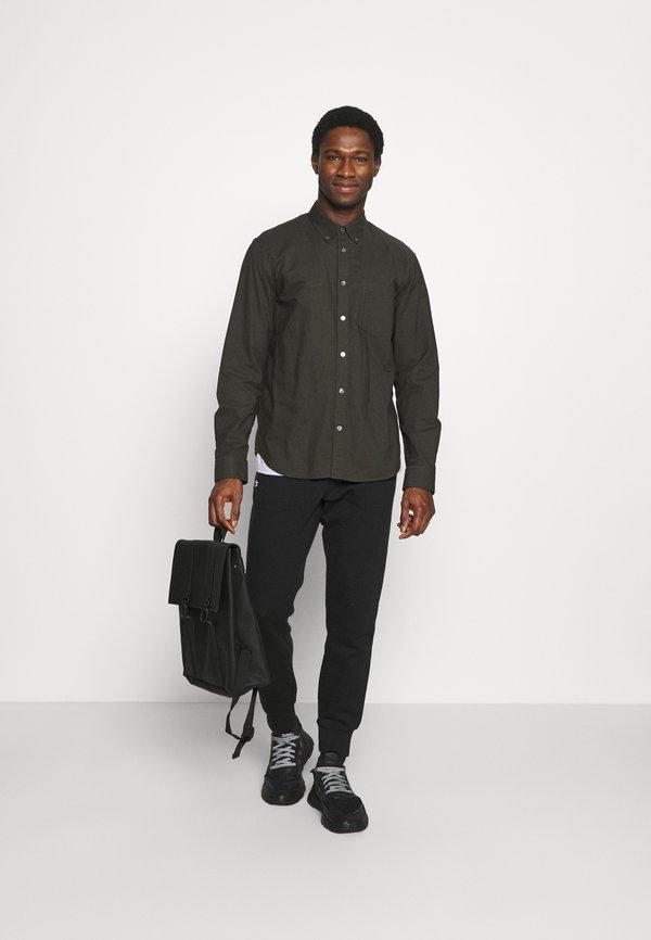 Lacoste Spodnie treningowe - black/czarny Odzież Męska MDQX