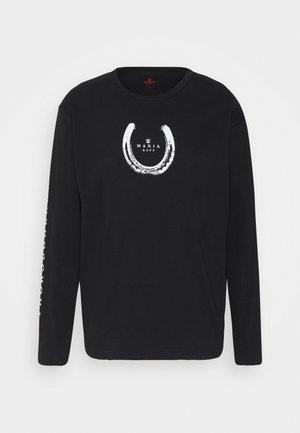 THOROUGHBREWED LONG SLEEVE - Pitkähihainen paita - black