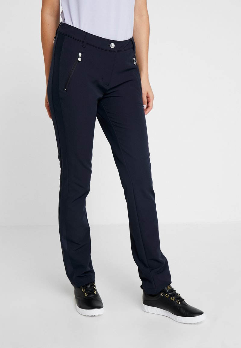 Daily Sports - MADDY PANTS - Spodnie materiałowe - navy