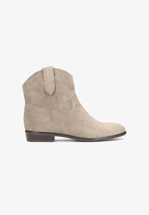 SIMONETTA - Cowboy/biker ankle boot - brown