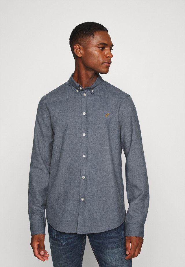 Koszula - mottled blue