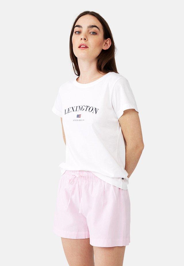 Pyjama - pink/white