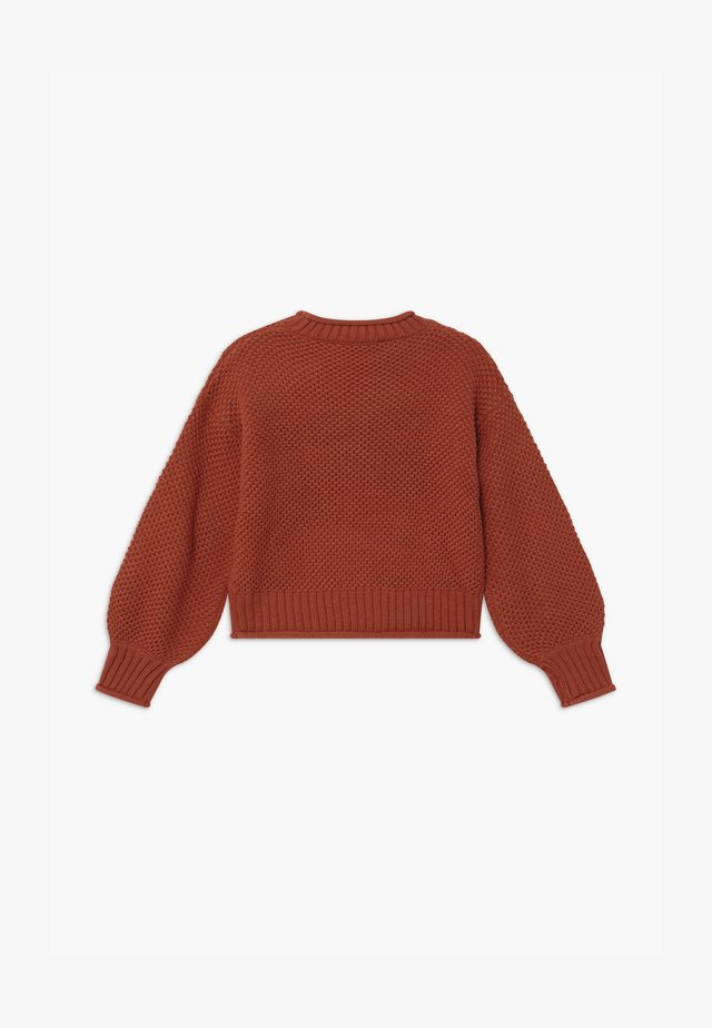 JAMIE - Pullover - copper