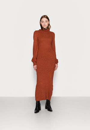 LADIES DRESS  - Jumper dress - rust