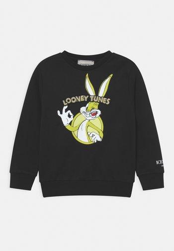 LOONEY TUNES GIROCOLLO - Sweatshirt - nero