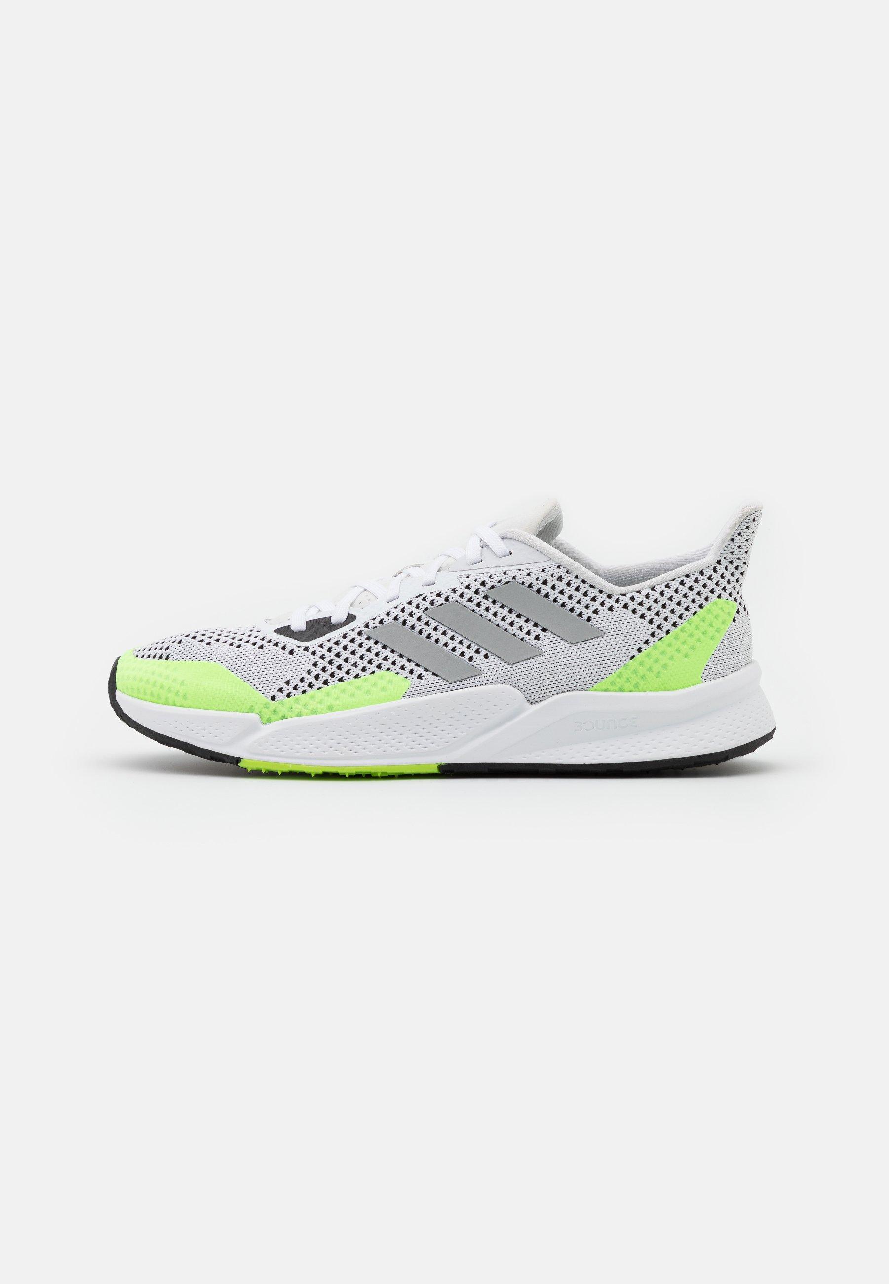X9000L2 BOUNCE SPORTS RUNNING SHOES UNISEX - Baskets basses - footwear white/metallic silver/core black