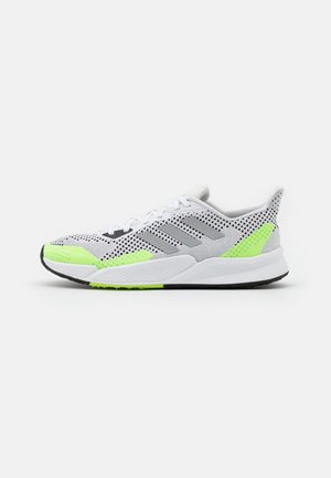 X9000L2 BOUNCE SPORTS RUNNING SHOES UNISEX - Zapatillas - footwear white/metallic silver/core black