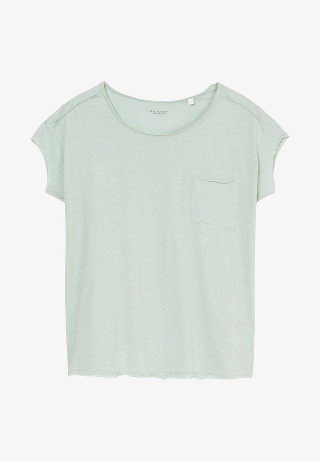 T-shirt basic - light carib