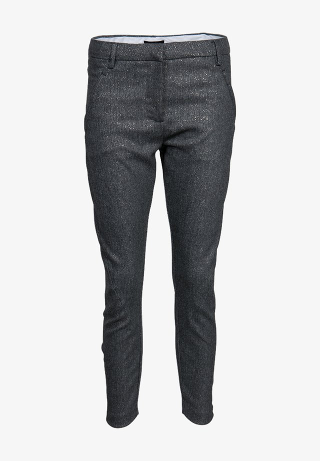 ANGELIE  - Trousers - grey gold