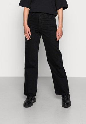 ESRA  - Jeans straight leg - black heavy washed