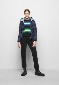 Save the duck - DAISY HOODED JACKET - Winter jacket - navy blue - 1