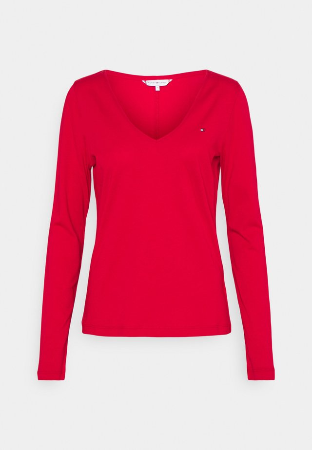 REGULAR CLASSIC - Langærmede T-shirts - primary red