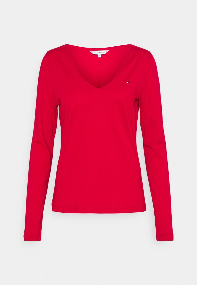 Tommy Hilfiger - REGULAR CLASSIC - Long sleeved top - primary red