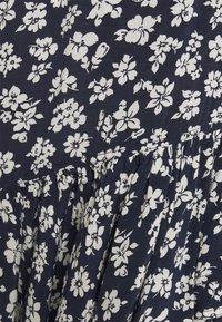 Polo Ralph Lauren - Zavinovací sukně - navy/cream - 5