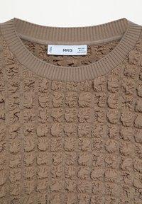 Mango - POMPAS - Pullover - mittelbraun - 6
