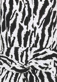 Bruuns Bazaar - BELL BINA DRESS - Day dress - black/white - 5
