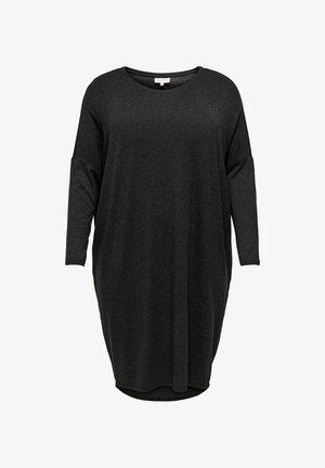 CURVY - Vapaa-ajan mekko - dark grey melange