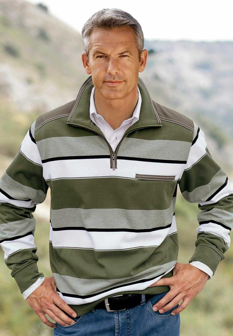 Babista - Sweatshirt - oliv,weiß