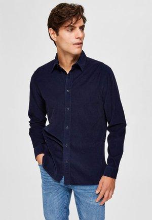 SLHREGHENLEY CAMP - Shirt - maritime blue