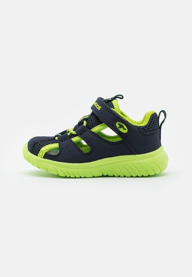 KI-ROCK LITE - Walking sandals - dark navy/lime mono