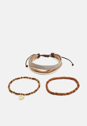 NEAUTRAL MIXED 3 PACK - Bracelet - brown