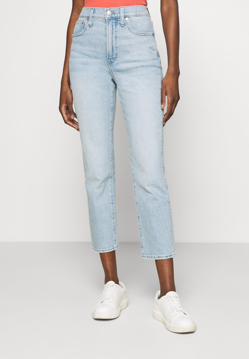 Madewell - THE PERFECT VINTAGE - Jeans slim fit - fiore