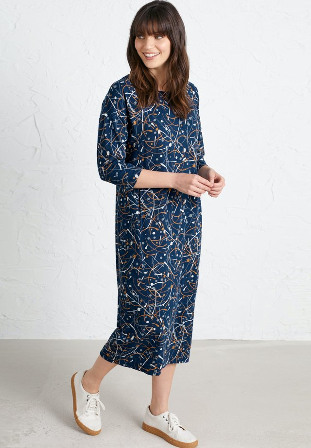 INKWELL - Jersey dress - dark blue