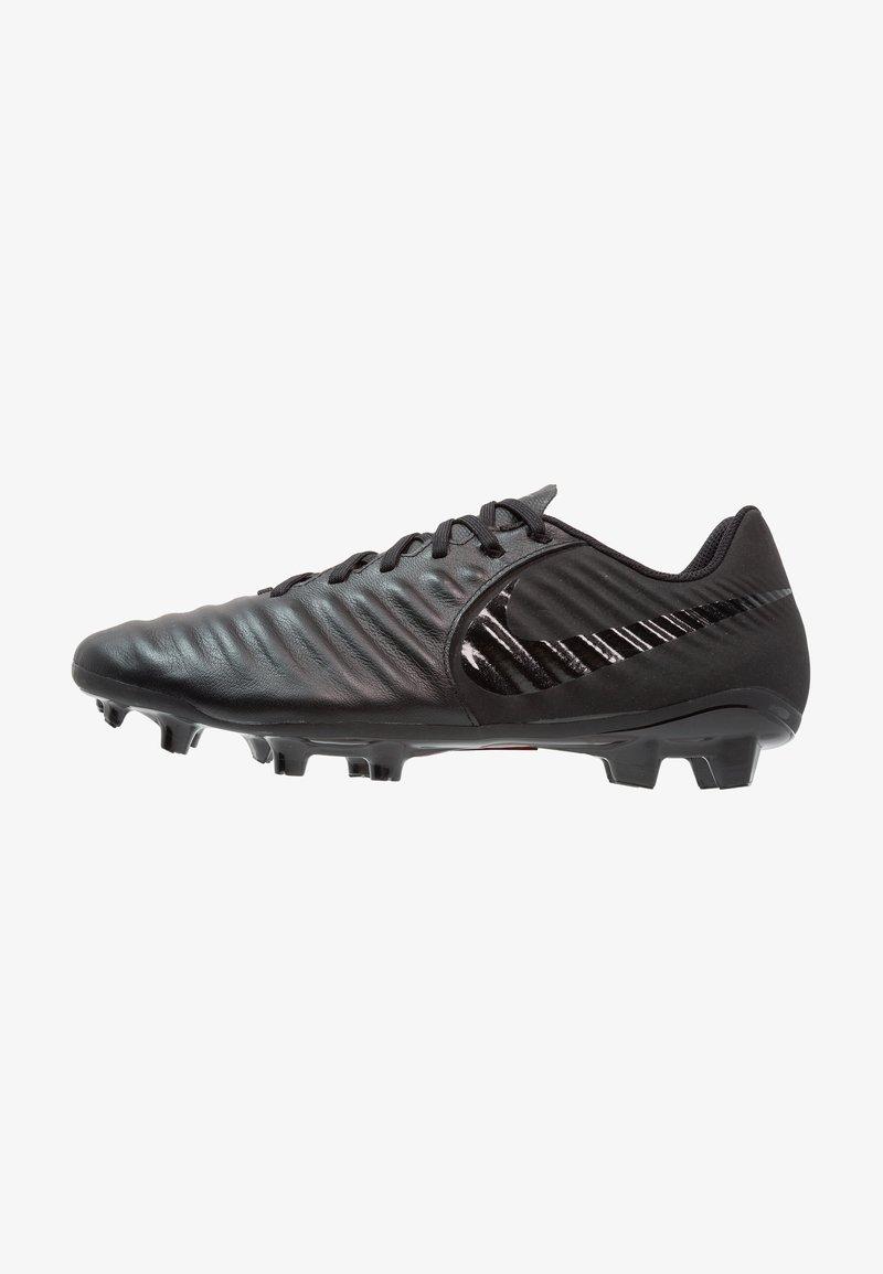 Nike Performance - LEGEND 7 ACADEMY MG - Moulded stud football boots - black/light crimson