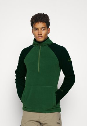 POLARTEC ZIP - Fleece jumper - forest