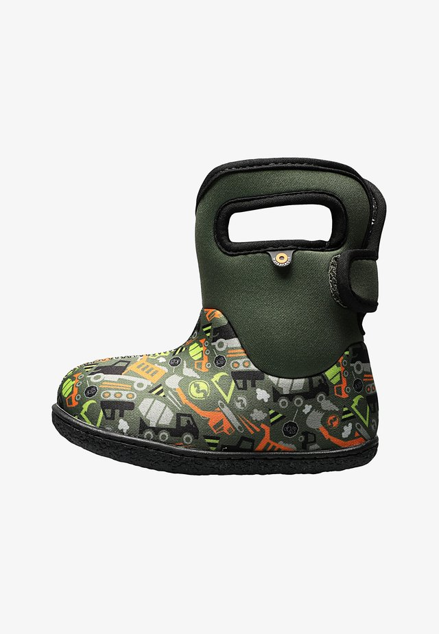 CONSTRUCTION - Chaussures premiers pas - green multi