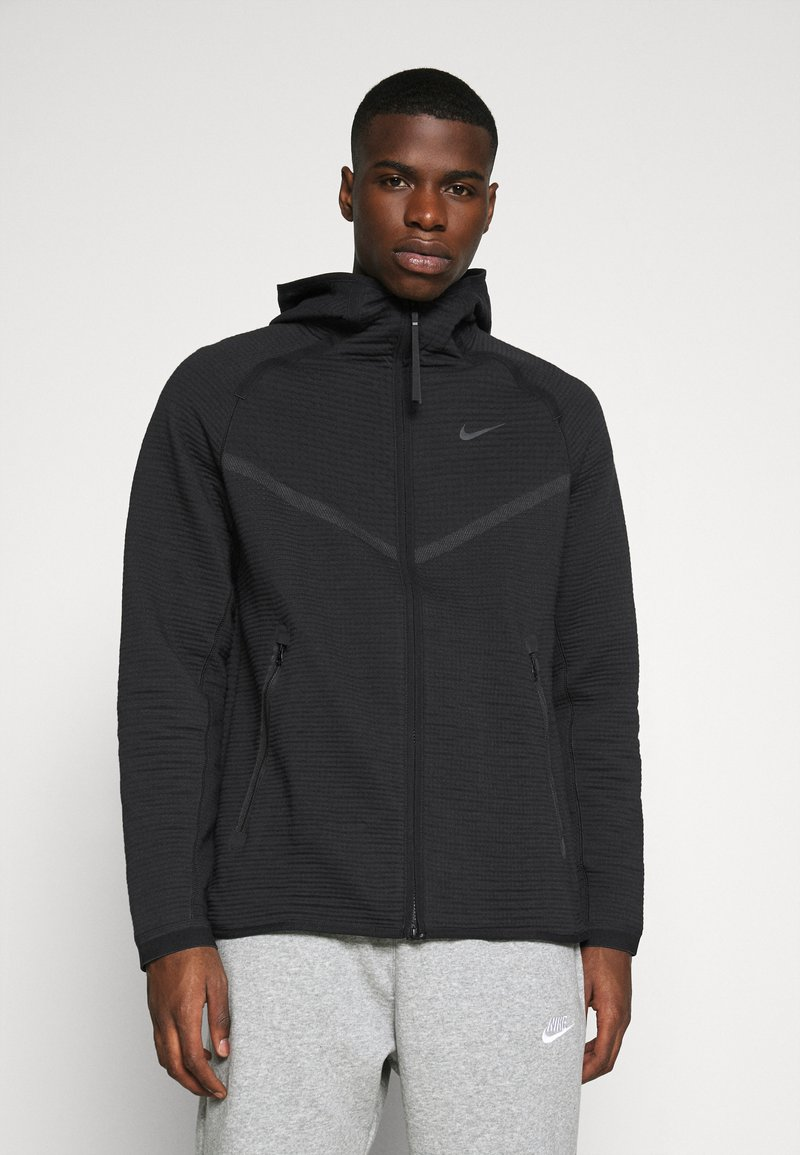 Nike Sportswear - HOODIE  - Huvtröja med dragkedja - black/anthracite