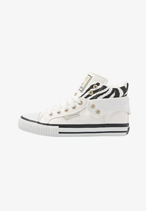ROCO - Matalavartiset tennarit - white/zebra