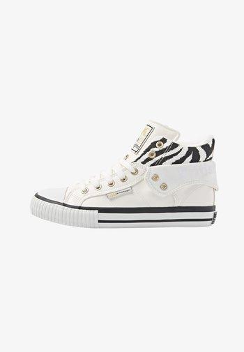 ROCO - Tenisky - white/zebra