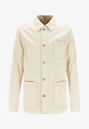 MOORE - Denim jacket - open white
