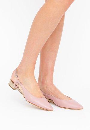EMMA - Ballet pumps - confetto/ avana
