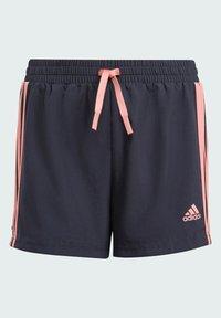 adidas Performance - ADIDAS DESIGNED TO MOVE 3-STRIPES SHORTS - Sports shorts - blue - 3