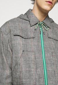 Viktor&Rolf - THE PRINCE OF WALES KANGAROO JACKET - Summer jacket - grey - 7