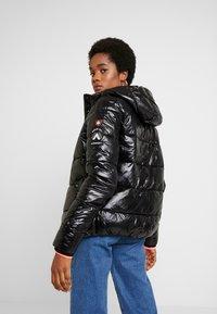 Superdry - HIGH SHINE TOYA PUFFER - Winter jacket - black - 2