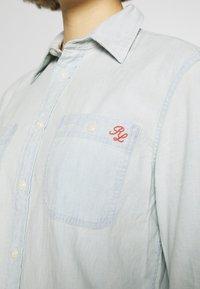 Polo Ralph Lauren - RELAXED LONG SLEEVE SHIRT - Button-down blouse - chambray - 3