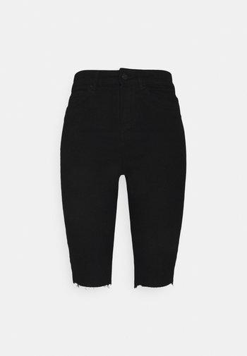 VMJOY JUDY - Shorts di jeans - black