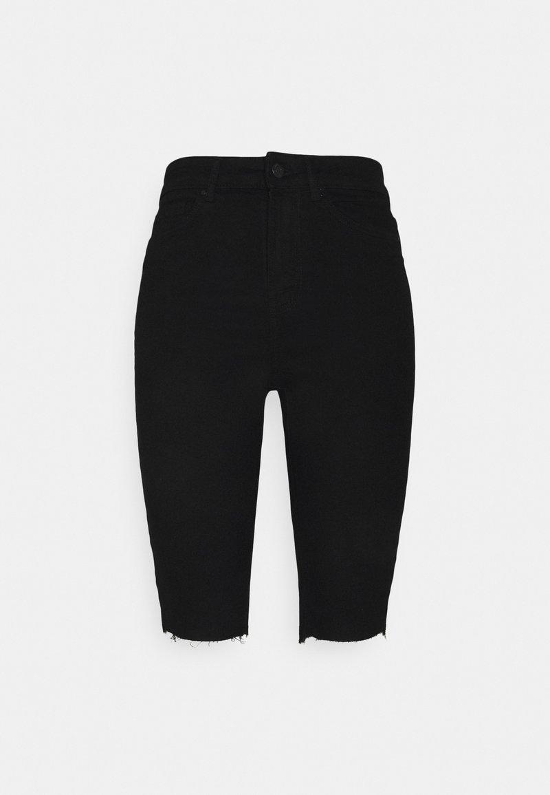 Vero Moda - VMJOY JUDY - Shorts di jeans - black