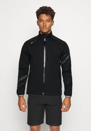 HURRICANE JACKET - Hardshellová bunda - black